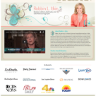 Website Design for Robbin L. Itkin for TVGuestpert.com